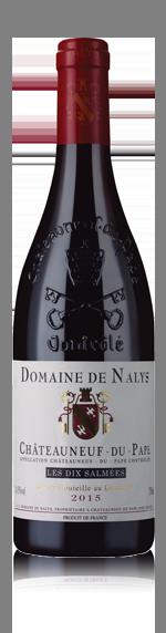 vin Domaine de Nalys Dix Salmées Châteauneuf-du-Pape 2015 Grenache