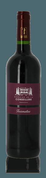 Domaine de la Conseillere Tourmaline Rouge 2013 Merlot 40% Merlot, 30% Cabernet Sauvignon, 30% Syray Languedoc-Roussillon