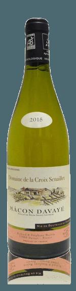 vin Domaine de la Croix Senaillet Macon-Davayé Bio 2015  Chardonnay