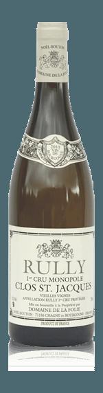 vin Domaine de la Folie Rully Clos la Folie Monopole 2014 Chardonnay