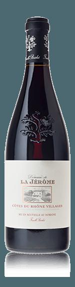 vin Domaine de la Jérôme Côtes du Rhône Villages 2014 Grenache