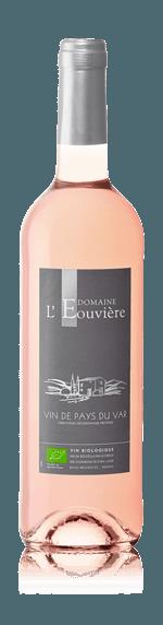 Domaine l'Eouvière Rosé IGP Var Bio 2018  Merlot Merlot, Grenache, Syrah Languedoc-Roussillon