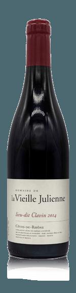 vin Domaine la Vieille Julienne Côtes-du-Rhône Lieu-Dit Clavin 2012  Grenache