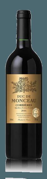 Duc de Monceau Corbières 2016