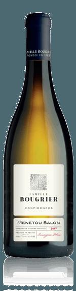 Famille Bougrier Confidences Menetou Salon Blanc AOP 2018 Sauvignon Blanc 100% Sauvignon Blanc Loire