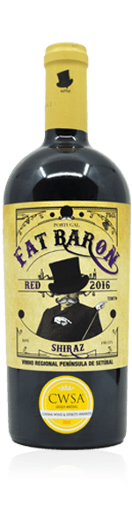 Fat Baron Shiraz 2016 Shiraz 100% Shiraz Setubal