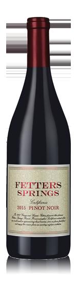 Fetters Springs Pinot Noir 2015