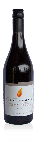 vin Fire Block GSM 2015 Grenache