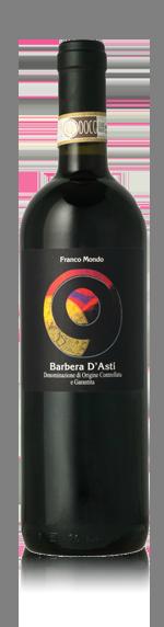 Franco Mondo Barbera d'Asti 2015 Barbera