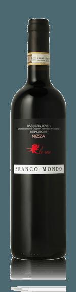 Franco Mondo Barbera d'Asti Superiore Nizza La Rose 2014 Barbera