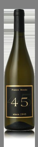 "Franco Mondo Vino Bianco ""45"" 2017 Annan"