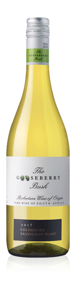 Gooseberry Bush 2017 Colombard 90% Colombard, 10% Sauvignon Blanc Breede River Valley