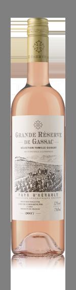 vin Grande Réserve de Gassac Rosé 2017 Grenache