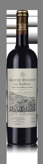vin Grande Réserve de Gassac Rouge 2016 Cabernet Sauvignon
