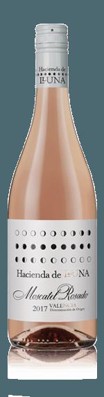 vin Hacienda De Lluna Moscatel Rosado 2017 Moscatel