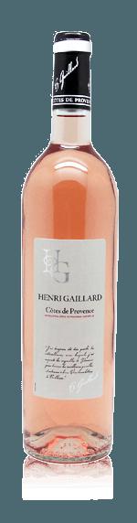 vin Henri Gaillard Provence Rosé 2017 Magnum Grenache