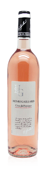 Henri Gaillard Provence Rosé 2017 (halvflaska) Grenache
