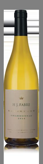 vin Hj Fabre Reservado Chardonnay 2016 Chardonnay