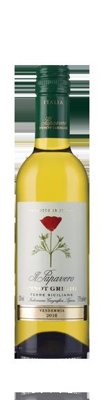 vin Il Papavero Pinot Grigio 2016 (halvflaska) Pinot Grigio