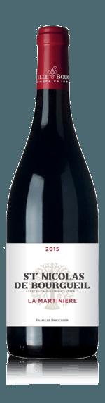 vin La Martiniere  Saint Nicolas De Bourgueil 2016 Cabernet Franc
