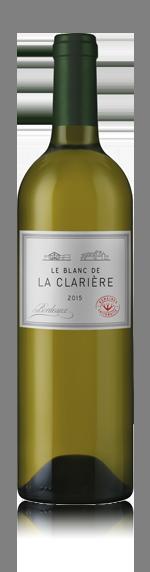 vin Le Blanc De La Clariere 2015 C6 Sauvignon Blanc
