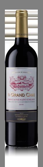 vin Le Grand Chai Montagne St Emilion Aoc 2015 Merlot