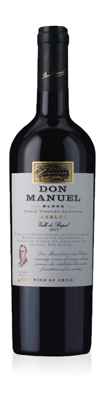 vin Los Rosales Don Manuel Single Vineyard Selection Merlot 2015 Merlot