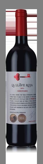 vin La Llave Roja 8 Meses 2012 Tempranillo