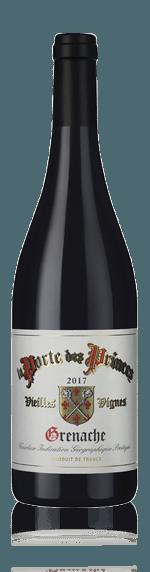 vin La Porte Des Princes Grenache 2017 Grenache