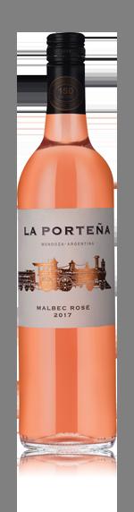 vin La Porteña Malbec Rose 2017 Malbec