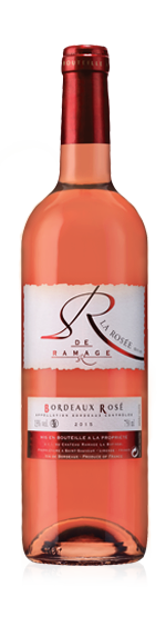 La Rosee De Ramage Bordeaux Rose Aoc 2015