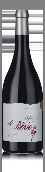 vin La Syrah de Rêve 2016 Syrah