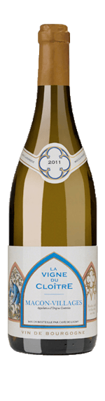 La Vigne du Cloitre Cave de Lugny Bourgogne Chardonnay 2015
