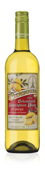 vin Le Citronnier Colombard Sauv Igp Gasc 2016 Colombard