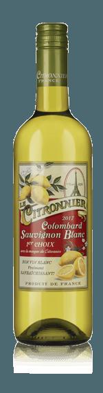 vin Le Citronnier Colombard Sauv Igp Gasc 2017 Colombard