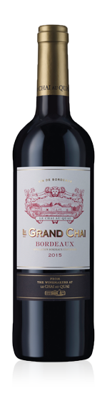 vin Le Grand Chai Bordeaux 2015 Merlot