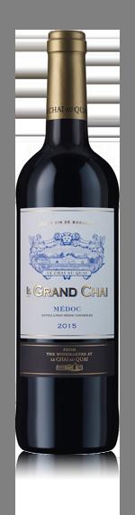 vin Le Grand Chai Medoc 2015 Merlot