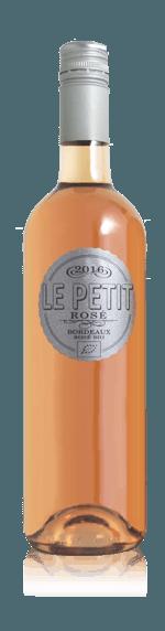 Le Petit Rosé Bordeaux AOC 2016  Merlot