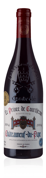 Le Prince De Courthézon Châteauneuf-du-Pape 2016 Grenache
