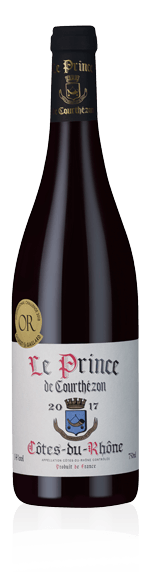 vin Le Prince de Courthézon CDR 2017 Grenache