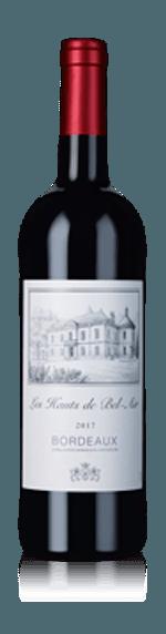 vin Les Hauts de Bel Air 2017 Merlot