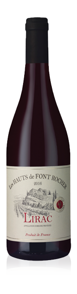 vin Les Hauts de Font Rocher 2016 Grenache