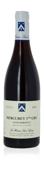 vin Les Heritiers Saint Genys Clos Marcilly Mercurey 1er Cru AOC 2013 Pinot Noir