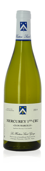 Les Heritiers Saint Genys Clos Marcilly Mercurey 1er Cru blanc 2015 Chardonnay