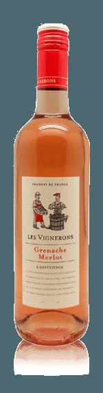 Les Vignerons Grenache Merlot Rosé 2017 Grenache