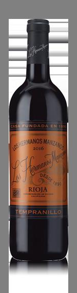 vin Los Hermanos Manzanos O/A Rioja 2016 Tempranillo
