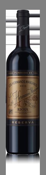 vin Los Hermanos Manzanos Reserva 2013 Tempranillo