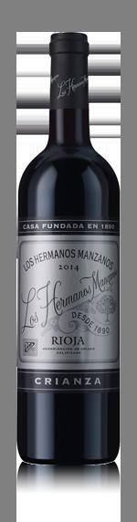 vin Los Hermanos Manzanos Rioja Crianza 2014 Tempranillo