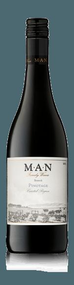 MAN Bosstok Pinotage 2017 Pinotage 100% Pinotage Coastal Region