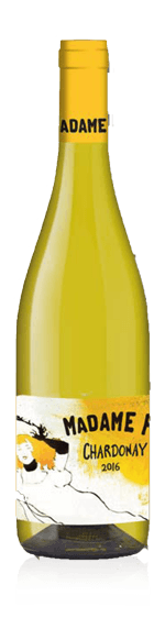 Madame F Chardonnay 2016 Chardonnay 100% Chardonnay Vin de France